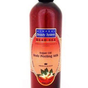 argan oil peeling milk