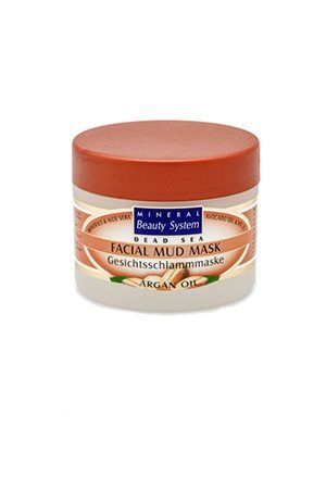 argan facial mud mask